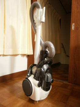 シャープの掃除機.JPG